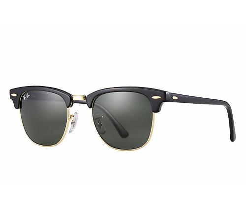 Óculos de Sol Femininos   Ray Ban Clubmaster Clássico RB3016 8716476f4f