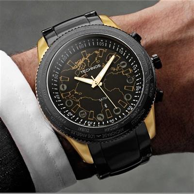 Relógios de Pulso Masculinos   Technos Connect 2.0 - 753 aa 713f28552f