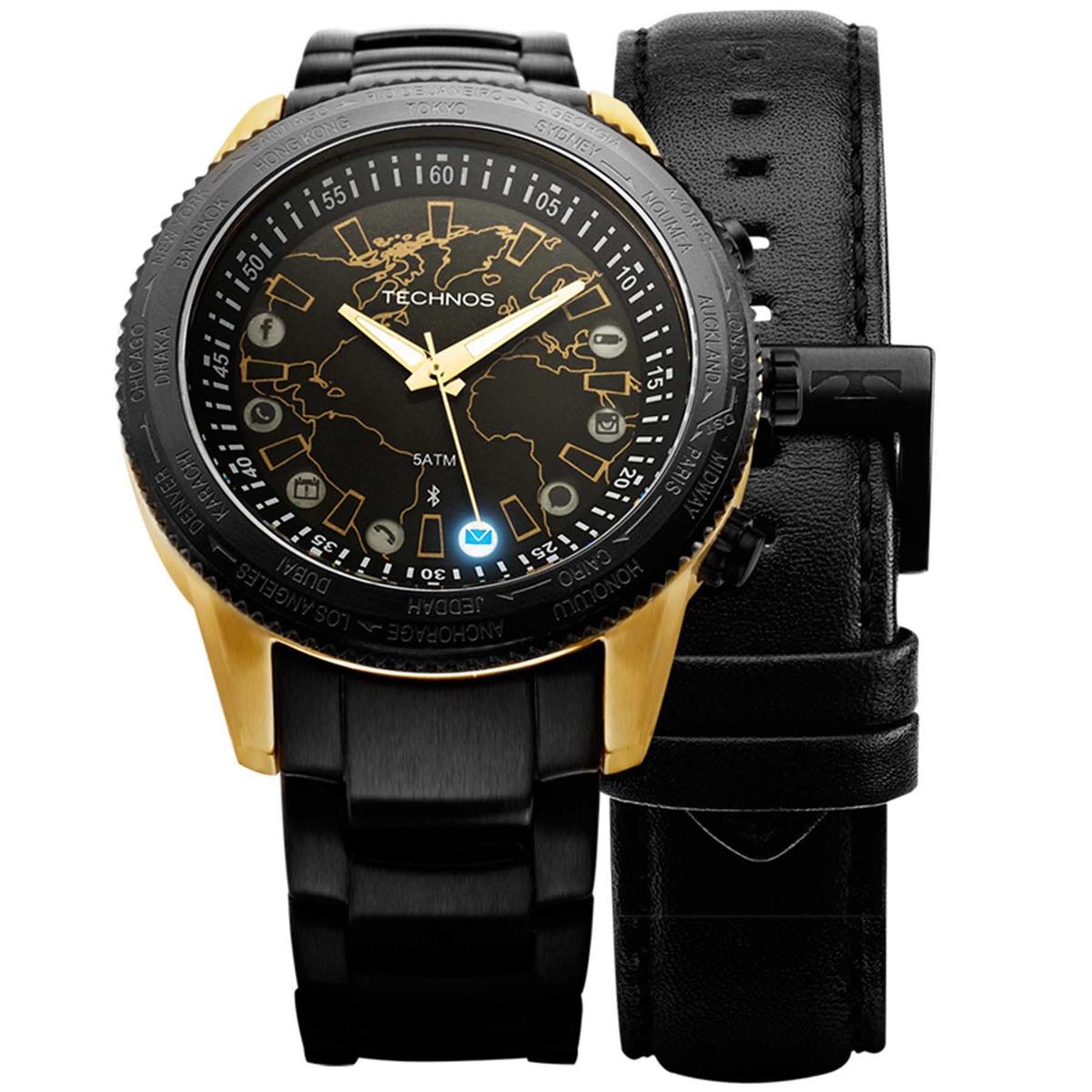 Relógios de Pulso Masculinos   Technos Connect 2.0 - 753 aa 3bceff1400